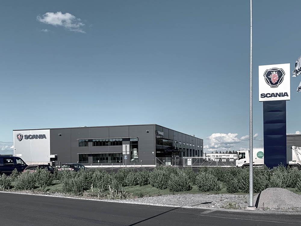Scania Suomi Oy, Hämeenlinna